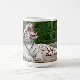 White Tiger, Bengal Tiger Coffee Mug