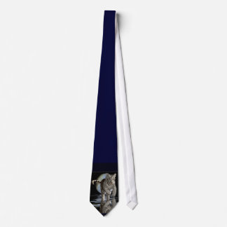 WHITE TIGER CUB Collection Tie