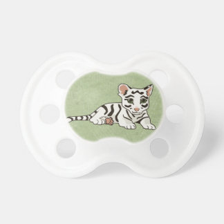 White Tiger Cub Pacifier