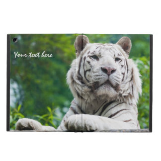 White Tiger custom cases iPad Air Covers