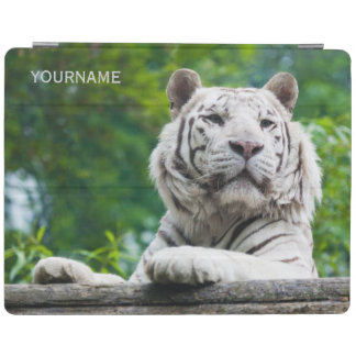 White Tiger custom device covers iPad Cover