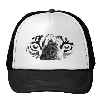 White Tiger Eyes jGibney The MUSEUM Zazzle Cap