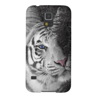 White tiger galaxy s5 covers