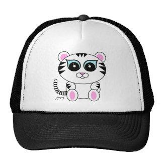 White Tiger Trucker Hats