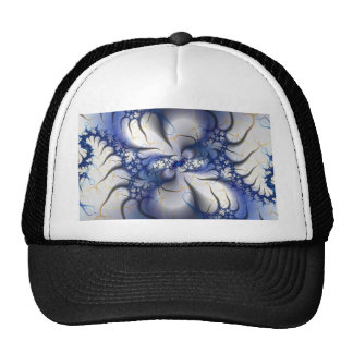 White Tiger Mesh Hat