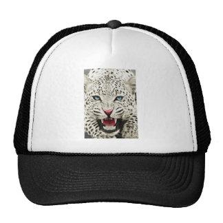 white tiger mesh hats