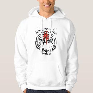 White Tiger Hoodie