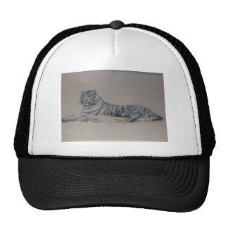 White Tiger in Repose Hat
