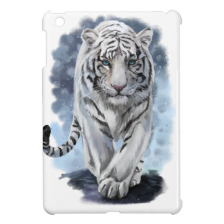 White Tiger iPad Mini Covers