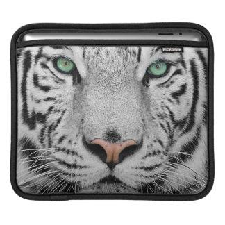 White Tiger iPad Sleeve