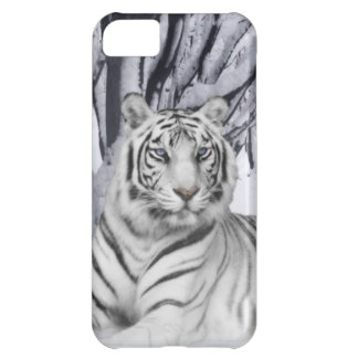 White TIger iPhone 5C Case