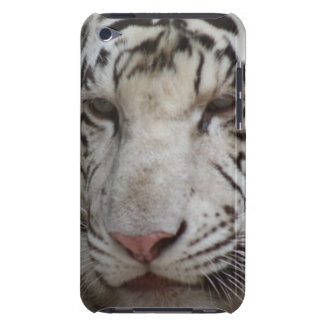 White Tiger iTouch Case
