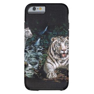 White Tiger Magical Jungle Tough iPhone 6 Case
