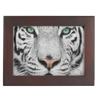 White Tiger Memory Box