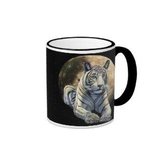 White Tiger Moon Coffee Mug
