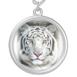 White Tiger Personalised Necklace