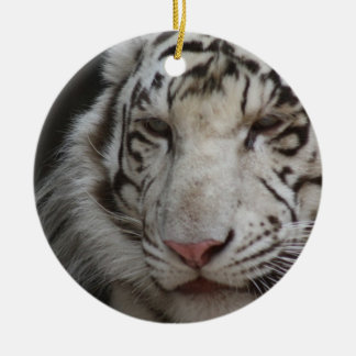 White Tiger Ornament