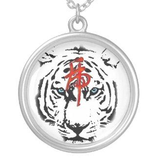 White Tiger Pendant