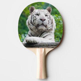 White Tiger ping pong paddle