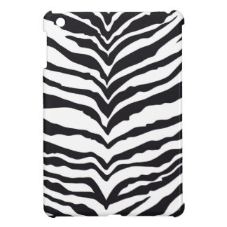 White Tiger Print iPad Mini Cover