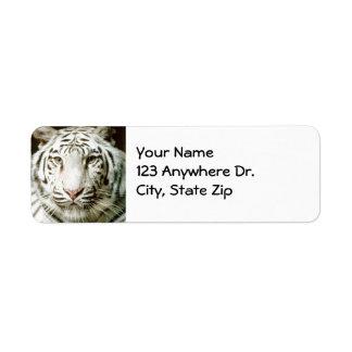White Tiger Return Labels