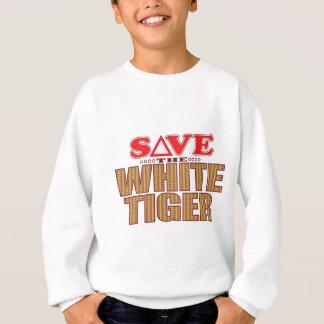 White Tiger Save Sweatshirt
