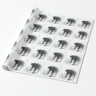 White Tiger wild animal Wrapping Paper