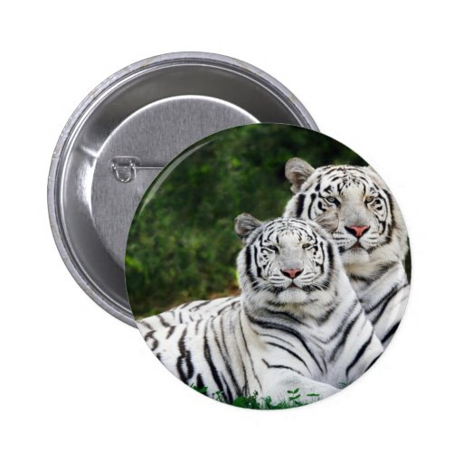 White Tigers Pins