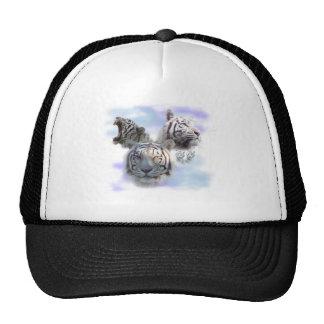 White Tigers Trucker Hats