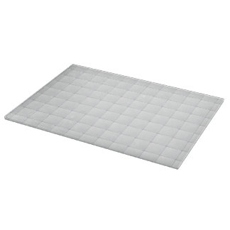 White tile cutting board