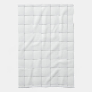 White tile tea towel