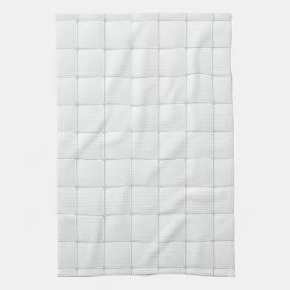 White tile tea towels