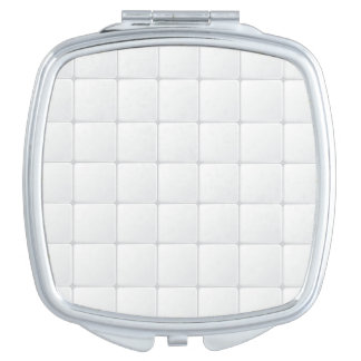 White tile vanity mirrors