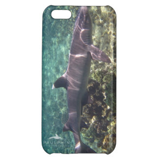 White Tip Reef Shark iPhone 5 Case