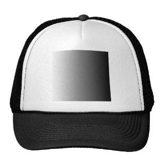 White to Black Vertical Gradient Hat