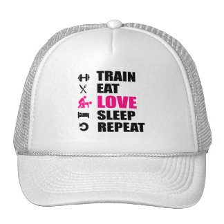 """White to trucker CAP will be Woman """"gymstyle """""""