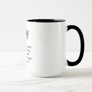 White TPN mug
