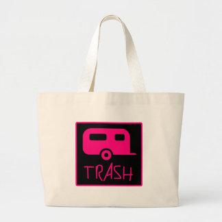 White Trailer Park Trash Poor Dumb Redneck Tote Bag