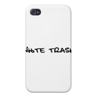 White Trash Case For iPhone 4