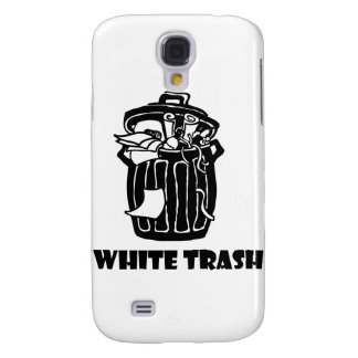 White Trash Garbage Can Samsung Galaxy S4 Covers