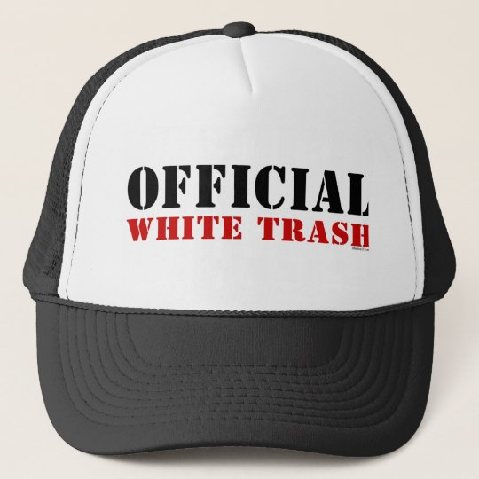 9eb6a3e8873 White Trash Hat