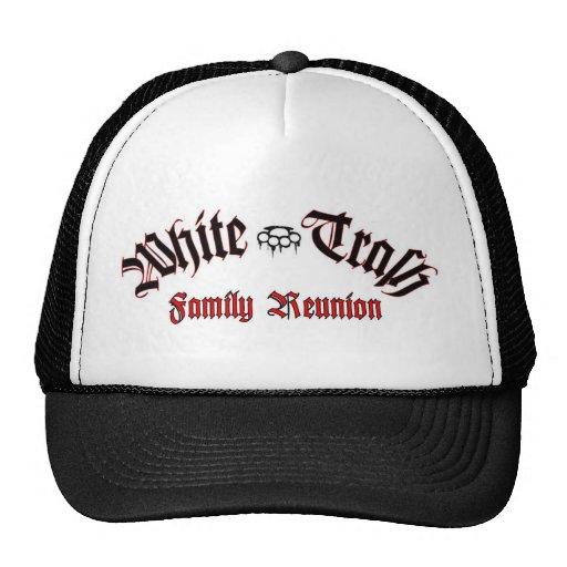 White trash hats