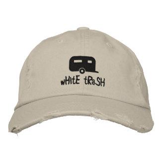 white trash trailer hat baseball cap
