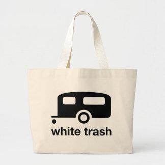White Trash trailer icon - trailer park Canvas Bag