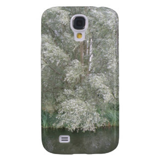 White Tree and River Landscape  Galaxy S4 Case