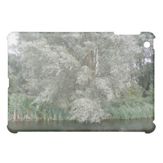 White Tree and River Landscape  iPad Mini Cover