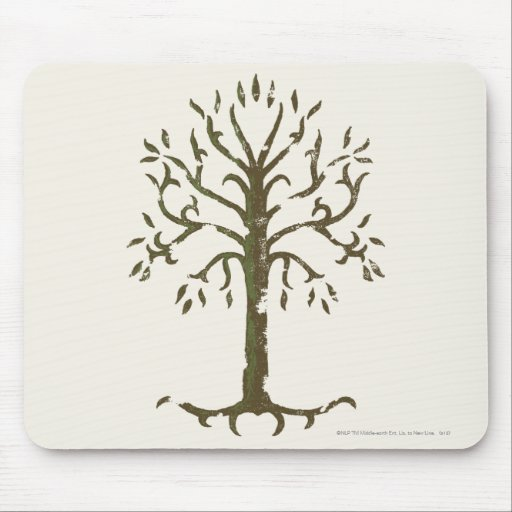 White Tree of Gondor Mouse Pad