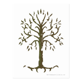 White Tree of Gondor Postcard
