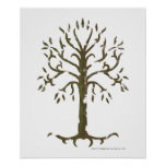 White Tree of Gondor Poster