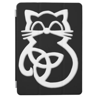White Trinity Knot Celtic Cat iPad Air Smart Cover iPad Air Cover